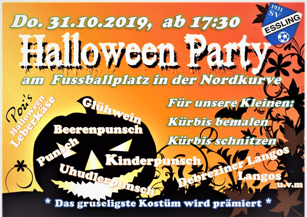 Halloweenparty 2018